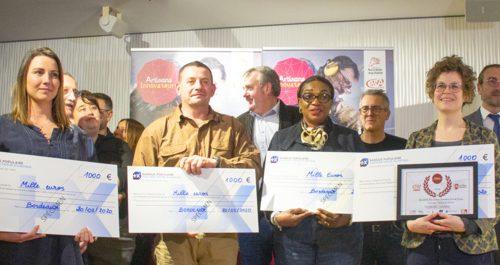 Lauréats du prix Artisans Innovateurs